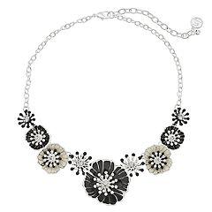 Dana Buchman Poppy Flower Collar Necklace