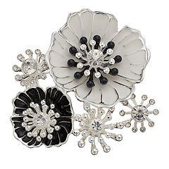 Dana Buchman Poppy Flower Cluster Pin