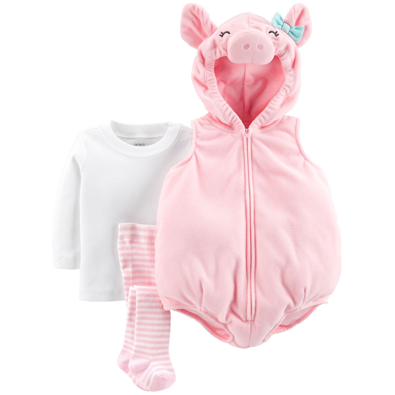 sc 1 st  Kohlu0027s & Baby Girl Carteru0027s Little Pig Halloween Costume
