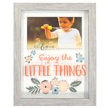 "New View ""Enjoy the Little Things"" Shadowbox 4"" x 6"" Frame"