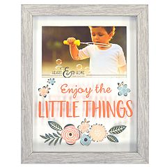 New View 'Enjoy the Little Things' Shadowbox 4' x 6' Frame