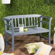 Safavieh Indoor / Outdoor Loveseat Bench