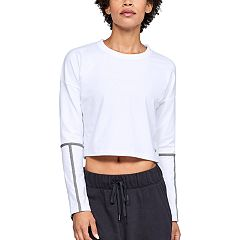 Women's Under Armour Lighter Longer Cropped Long Sleeve Tee