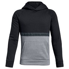 Boys 8-20 Under Armour Baseline Colorblock Pullover Hoodie