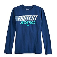 Boys 8-20 Under Armour Fastest On The Field Tee