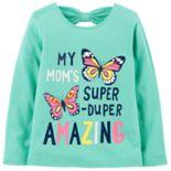 Toddler Girl Carter's Glitter Mom Graphic Tee