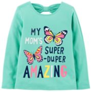 Toddler Girl Carter's Glitter Mom Graphic Tee