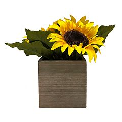SONOMA Goods for Life™ Artificial Sunflower Planter