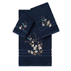 Linum Home Textiles Spring Time 3-piece Embellished Bath Towel Set