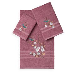 Linum Home Textiles Spring Time 3 pc Embellished Bath Towel Set
