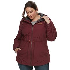 Plus Size Columbia Chatfield Hill Hooded Anorak Jacket