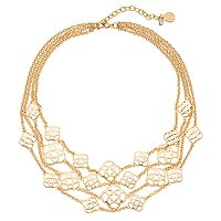 Dana Buchman Multi Strand Collar Necklace