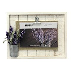 SONOMA Goods for Life™ Rustic Farmhouse 4' x 6' Photo Clip Frame
