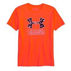Boys 8-20 Under Armour  Logo Print Tee