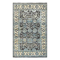 Rizzy Home Aquarius Floral Wool Rug