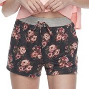 Juniors' Joe B Floral Shorts