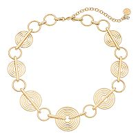 Dana Buchman Circle Collar Necklace