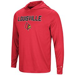 Men's Campus Heritage Louisville Cardinals Hooded Tee
