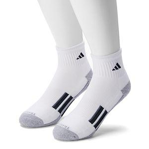Men's adidas 2 pack Speed Mesh climalite Superlite Quarter Socks
