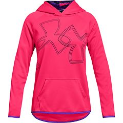 Girls 7-16 Under Armour Fleece Dual Logo Hoodie