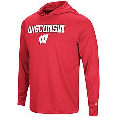 Men's Campus Heritage Wisconsin Badgers Hooded Tee