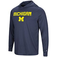 Men's Campus Heritage Michigan Wolverines Hooded Tee