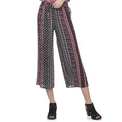 Juniors' Joe B Smocked Crop Pants