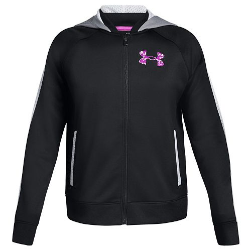 Girls 7-16 Under Armour Hooded Bomber Jacket