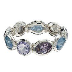 Dana Buchman Geometric Halo Stretch Bracelet