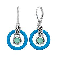 Napier Orbital Drop Earrings