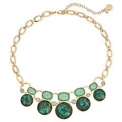 Dana Buchman Simulated Abalone Collar Necklace