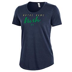 Women's Under Armour Notre Dame Fighting Irish Charged Tee