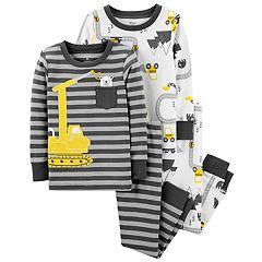 Baby Boy Carter's Construction Crew Top & Bottoms Pajama Set