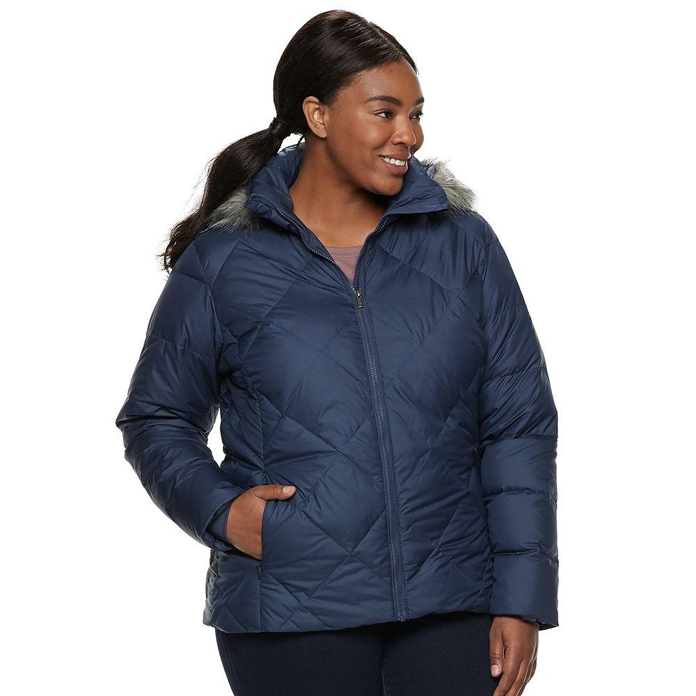 Plus Size Columbia Icy Heights II Hooded Down Jacket