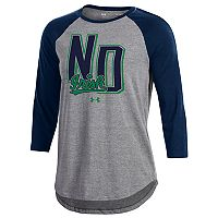 Women's Under Armour Notre Dame Fighting Irish Favorites Baseball Tee