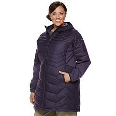 Plus Size Columbia Oyanta Trail Hooded Insulated Jacket