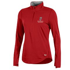 Women's Under Armour Wisconsin Badgers Charged Pullover
