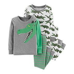 Baby Boy Carter's Alligator Tops & Bottoms Pajama Set