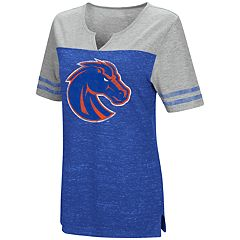 Women's Campus Heritage Boise State Broncos On The Break Tee