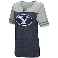 Women's Campus Heritage BYU Cougars On The Break Tee