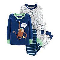 Kohls.com deals on 6-Sets Carters Boys or Girls Pajama Sets