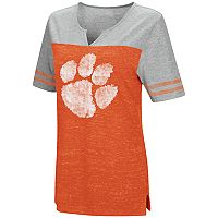 Women's Campus Heritage Clemson Tigers On The Break Tee