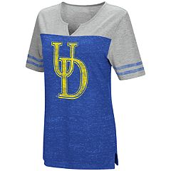 Women's Campus Heritage Delaware Blue Hens On The Break Tee