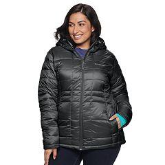 Plus Size Columbia Pacific Post II Hooded Jacket
