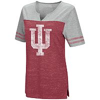 Women's Campus Heritage Indiana Hoosiers On The Break Tee