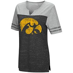 Women's Campus Heritage Iowa Hawkeyes On The Break Tee
