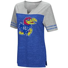 Women's Campus Heritage Kansas Jayhawks On The Break Tee