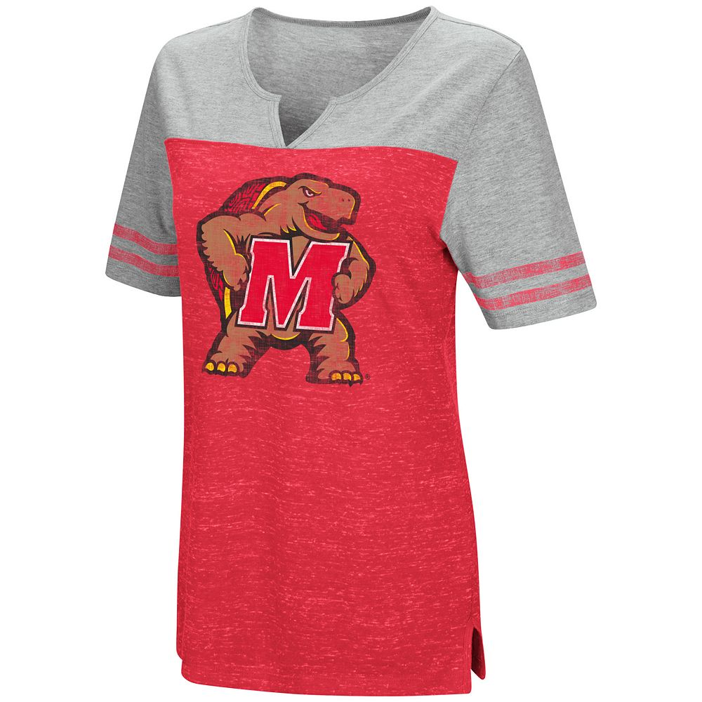Women's Campus Heritage Maryland Terrapins On The Break Tee
