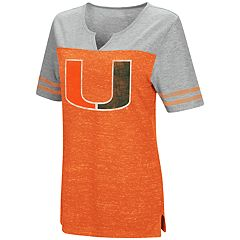 Women's Campus Heritage Miami Hurricanes On The Break Tee