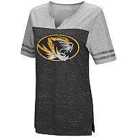 Women's Campus Heritage Missouri Tigers On The Break Tee
